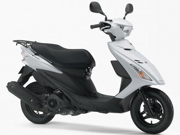 125cc スクーター 原付二種 おすすめ アドレスV125S