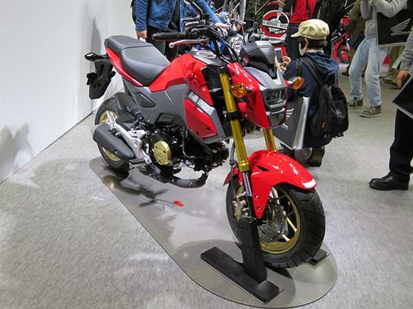 125cc MT 原付二種 おすすめ バイク一覧 グロム