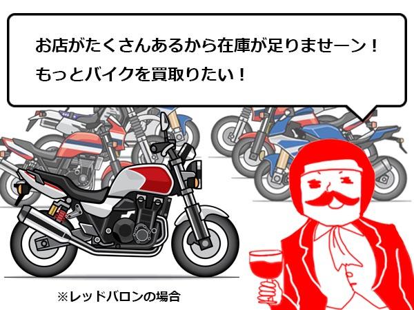 バイク 売る 比較3
