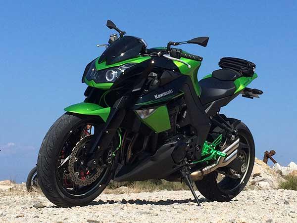 ストリートファイター ストファイ バイク Z1000 1