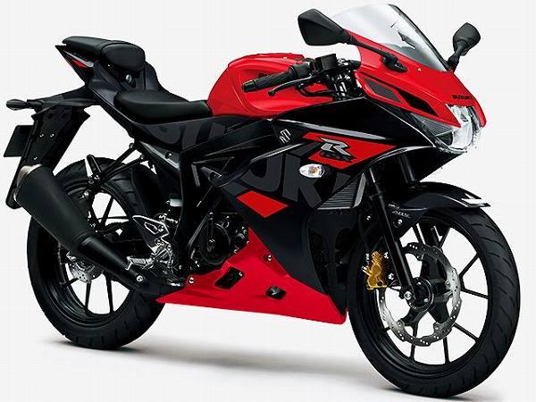 125cc MT 原付二種 おすすめ バイク一覧 GSX-R125