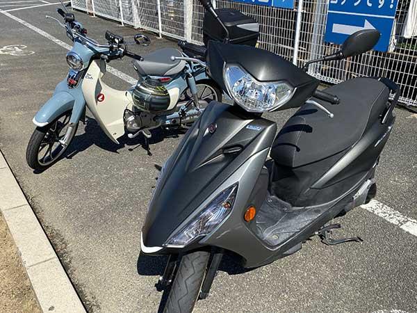 125cc 原付二種 バイク スクーター 免許 6