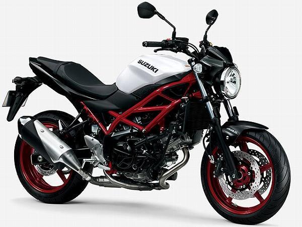 大型バイク 大排気量 大型免許 限定解除 新車 一覧 2021 SV650 41