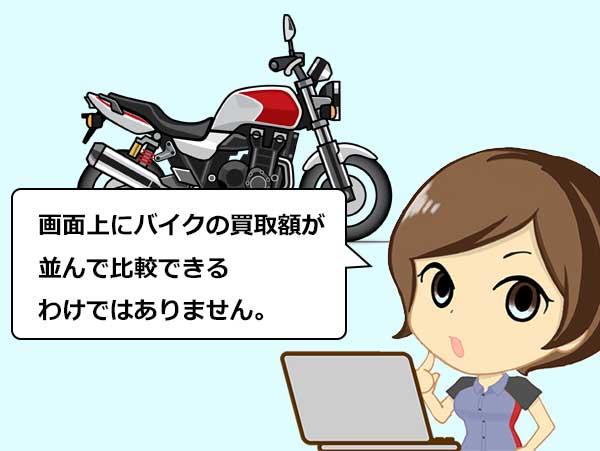 バイク 買取 一括査定 おすすめ デメリット 9
