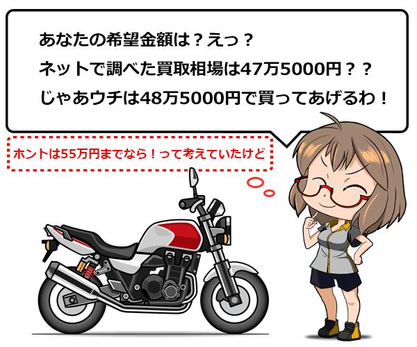 バイク 買取 売る 査定 23