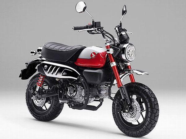 125cc バイク一覧 スクーター ホンダ モンキー125