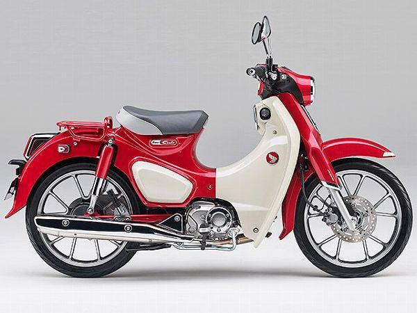125cc バイク一覧 スクーター ホンダ スーパーカブC125